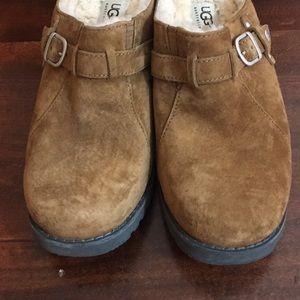 UGG Shoes - UGG Australia Lila Mules Chestnut